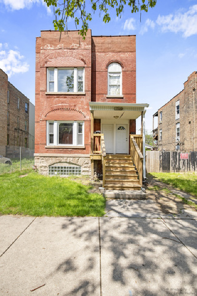 Chicago Multi Family Home New: 5632 South Wabash Avenue