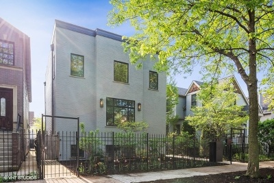 Single Family Home For Sale: 1842 North Albany Avenue