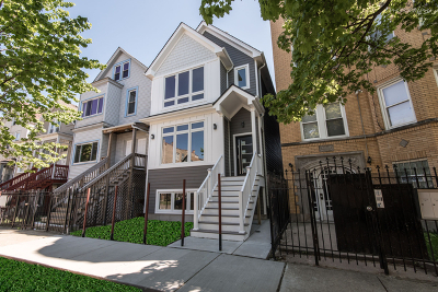 Cook County Single Family Home New: 3627 West Shakespeare Avenue