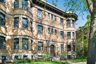 Chicago Condo/Townhouse New: 3508 North Greenview Avenue #1