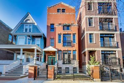 Chicago Condo/Townhouse New: 928 West Roscoe Street #3