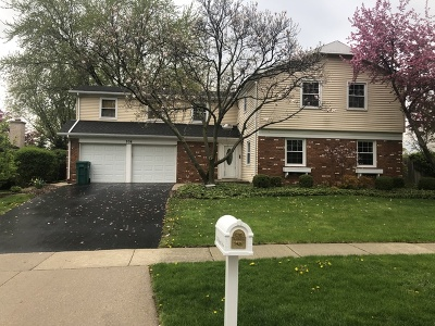 Buffalo Grove Single Family Home New: 338 Regent Drive