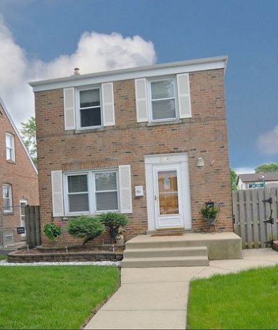 Chicago Single Family Home New: 3845 West 110th Street
