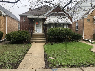 Single Family Home For Sale: 1923 North Oak Park Avenue