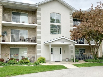 Hickory Hills Condo/Townhouse Contingent: 9120 West 95th Street #1B