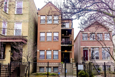 Cook County Condo/Townhouse New: 1652 North Fairfield Avenue #2