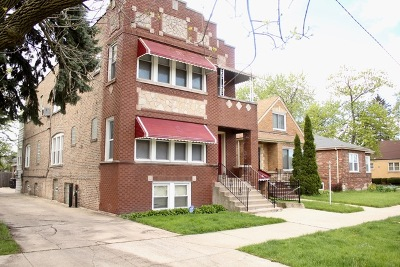 Cook County Multi Family Home New: 1717 West 85th Street