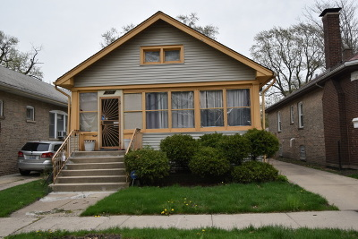 Cook County Single Family Home New: 12043 South Harvard Avenue