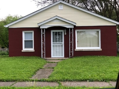 Cook County Single Family Home New: 14844 Irving Avenue