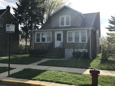 Chicago Single Family Home New: 3428 North Rutherford Avenue