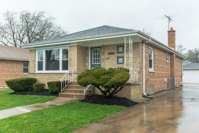 Cook County Single Family Home New: 1024 East 156th Place