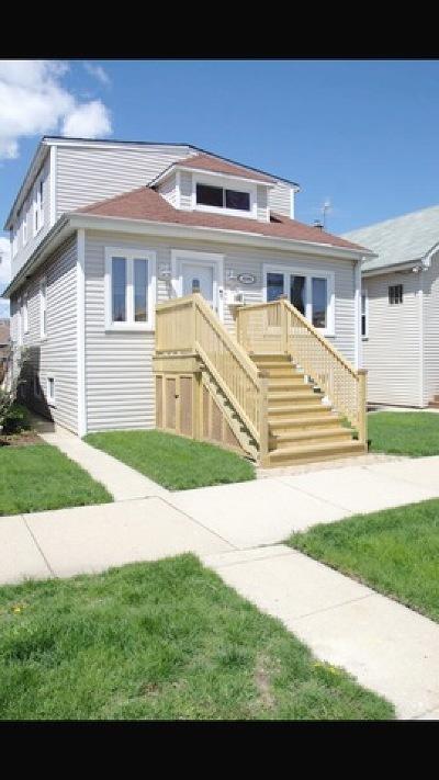 Chicago Single Family Home New: 4506 North McVicker Avenue