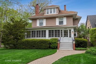 Wilmette Single Family Home New: 630 Greenleaf Avenue