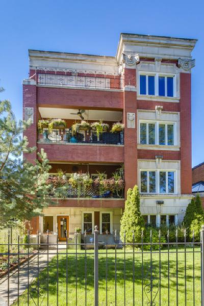 Chicago Condo/Townhouse New: 4610 South Drexel Boulevard #1E