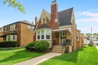 Chicago Single Family Home New: 3316 North New England Avenue