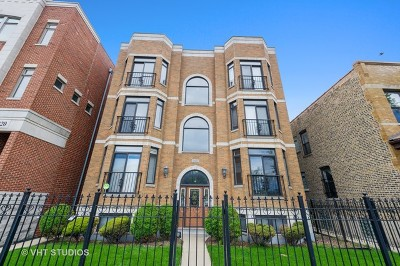 Chicago Condo/Townhouse New: 2022 North Wood Street #3S