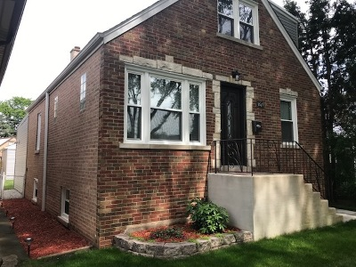 Chicago Single Family Home New: 3649 North Pittsburgh Avenue