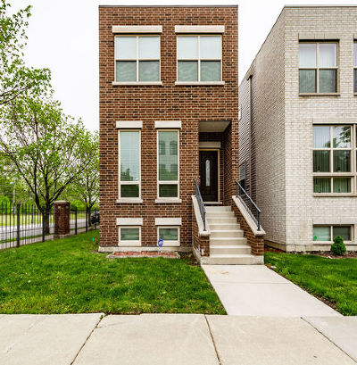 Chicago Single Family Home New: 3154 West Wallen Avenue