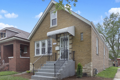 Chicago Single Family Home New: 8342 South Phillips Avenue