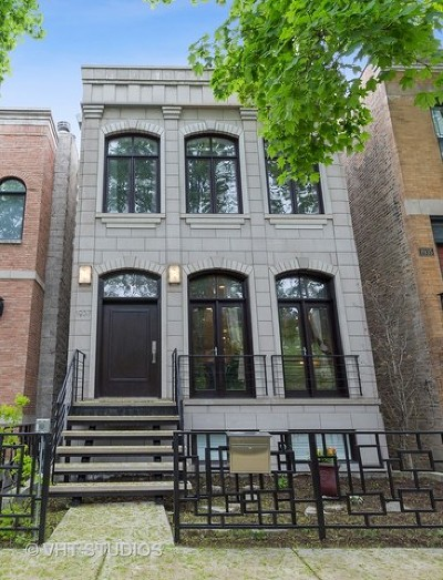 Wicker Park, Bucktown Single Family Home For Sale: 1937 North Wood Street