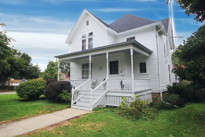Elgin Single Family Home New: 110 Hill Avenue