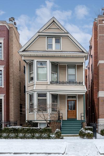 Multi Family Home New: 1525 West Roscoe Street