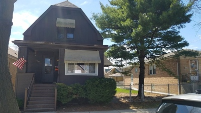 Chicago Single Family Home New: 6337 West Patterson Avenue