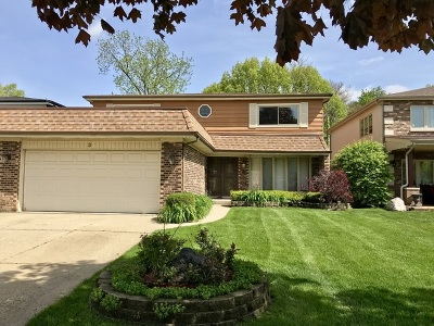 Morton Grove Single Family Home For Sale: 3 Reba Court