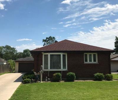 Du Page County Single Family Home Back On Market: 47 West Rozanne Drive