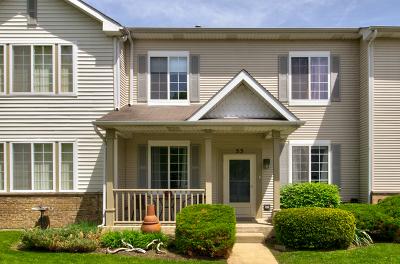 Romeoville Condo/Townhouse For Sale: 53 Coralbell #53