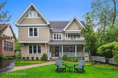 Glen Ellyn, Wheaton, Lombard, Winfield, Elmhurst, Naperville, Downers Grove, Lisle, St. Charles, Warrenville, Geneva, Hinsdale Single Family Home For Sale: 121 North Park Avenue