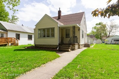 Kankakee Single Family Home New: 564 South Cannon Avenue