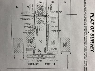 Chicago Residential Lots & Land For Sale: 1920 South Shelby Court