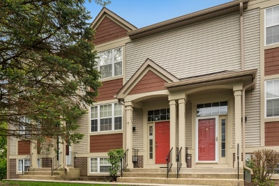 West Chicago Condo/Townhouse For Sale: 1629 Orchard Court
