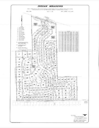Kankakee Residential Lots & Land For Sale: 1314 B2 Indian Trail