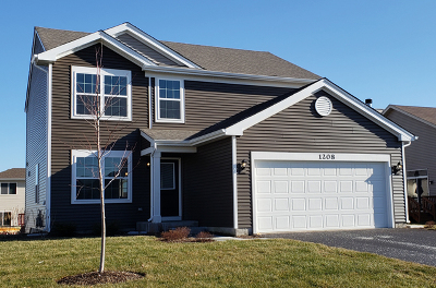 Joliet Single Family Home New: 1208 Clearspring Trail