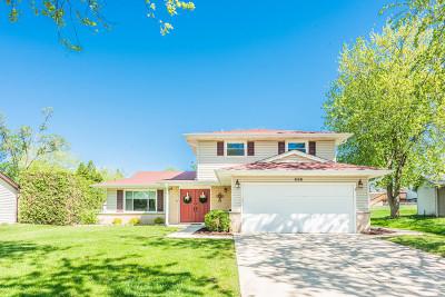 Schaumburg Single Family Home New: 826 Duxbury Lane