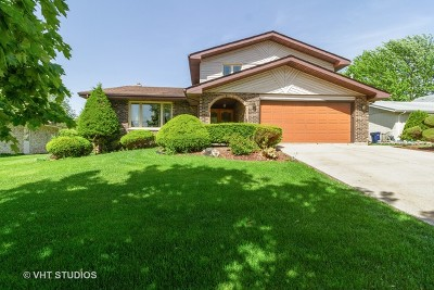 Orland Park Single Family Home New: 8438 Hollywood Drive