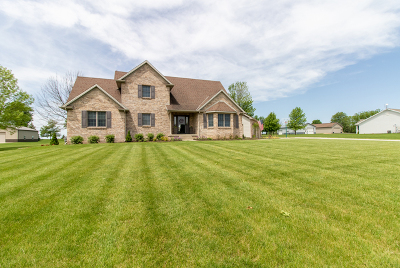 Heyworth Single Family Home New: 3384 Country Meadow Lane