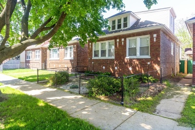 Chicago Single Family Home New: 7118 South Maplewood Avenue