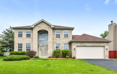 Carpentersville Single Family Home Price Change: 3602 Bradford Court