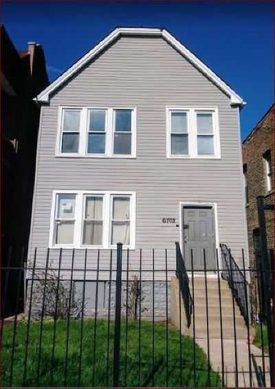 Chicago Multi Family Home New: 6702 South Green Street