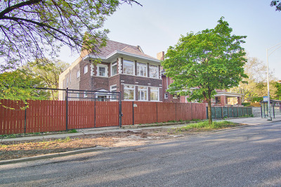 Chicago Single Family Home New: 1110 West Garfield Boulevard
