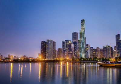 Chicago Condo/Townhouse New: 363 East Wacker Drive #5401