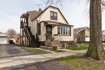 Chicago Single Family Home New: 10617 South Central Park Avenue