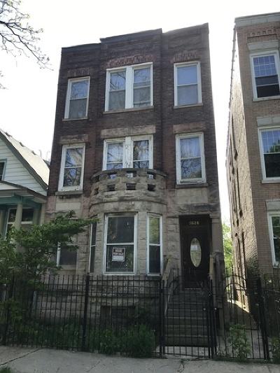 Chicago Multi Family Home New: 1628 North Drake Avenue