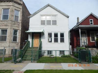 Chicago Multi Family Home New: 6613 South Peoria Street