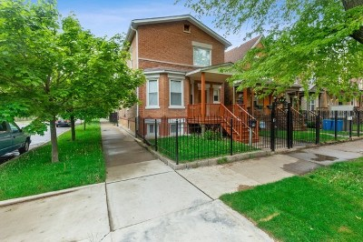 Chicago Single Family Home New: 3454 West Evergreen Avenue