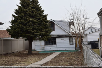 Chicago Single Family Home New: 6007 South Monitor Avenue