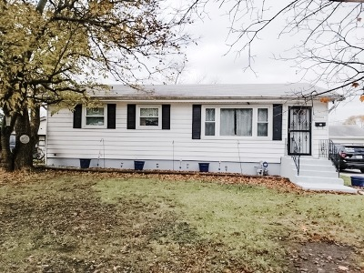 Tinley Park Single Family Home New: 17300 64th Court